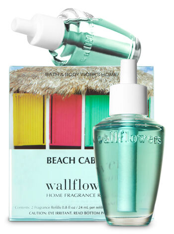 Beach Cabana Wallflowers Refills, 2-Pack - Bath And Body Works