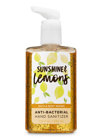 Sunshine & Lemons Hand Sanitizer, 7.6 fl oz - Bath And Body Works