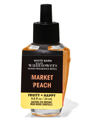 Market Peach Wallflowers Fragrance Refill