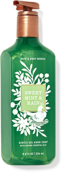 Sweet Mint & Rain Gentle Gel Hand Soap