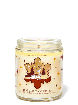 Hot Cocoa & Cream Single Wick Candle