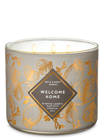 Welcome Home 3-Wick Candle - Bath And Body Works
