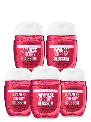 Japanese Cherry Blossom Pocketbac Hand Sanitizer 5-Pack - Bath And Body Works