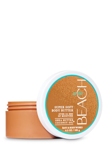 At The Beach Super Soft Body Butter - Bath And Body Works