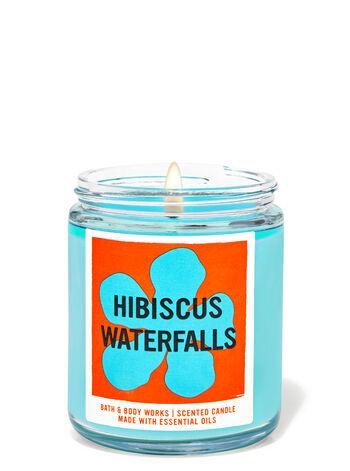 Hibiscus Waterfalls Single Wick Candle