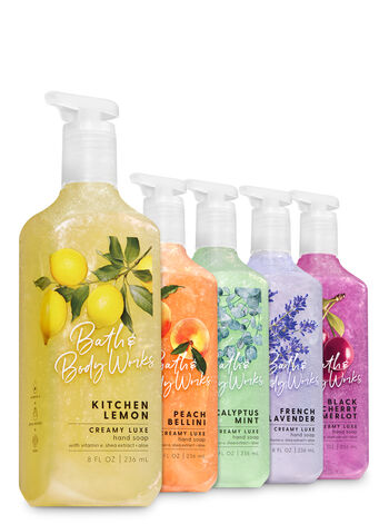 Fresh Picks Creamy Luxe Hand Soap, 5-Pack - Bath And Body Works