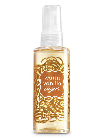 Signature Collection Warm Vanilla Sugar Travel Size Fine Fragrance Mist - Bath And Body Works