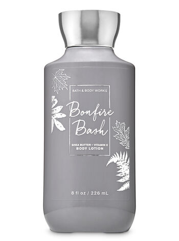 Bonfire Bash Super Smooth Body Lotion - Bath And Body Works