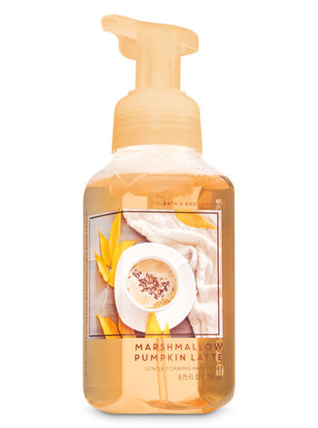 Marshmallow Pumpkin Latte Gentle Foaming Hand Soap - Bath And Body Works
