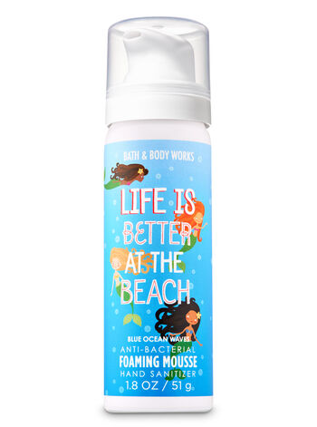 Blue Ocean Waves Foaming Hand Sanitizer - Bath And Body Works