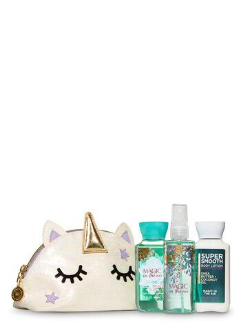 Magic in the Air Unicorn Cosmetic Bag Gift Set