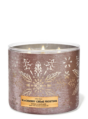 Blackberry Crème Frosting 3-Wick Candle