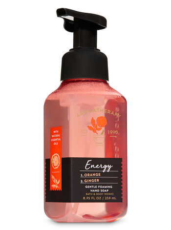 Aromatherapy Orange Ginger Gentle Foaming Hand Soap - Bath And Body Works