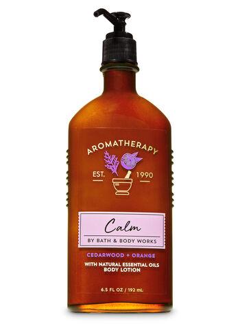 Aromatherapy Cedarwood Orange Body Lotion - Bath And Body Works