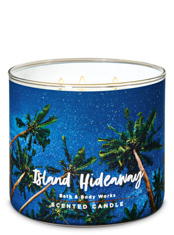 Island Hideaway 3-Wick Candle - Bath And Body Works