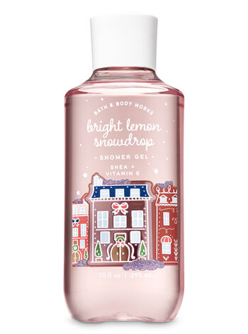 Bright Lemon Snowdrop Shower Gel - Bath And Body Works