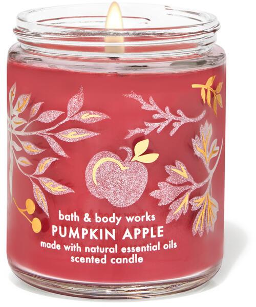 Pumpkin Apple Single Wick Candle