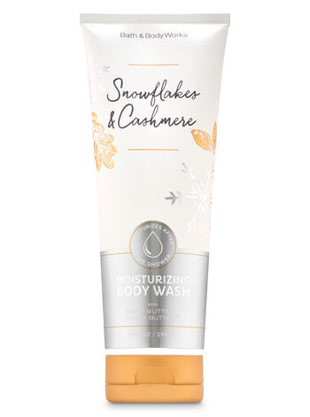 Snowflakes & Cashmere Moisturizing Body Wash - Bath And Body Works