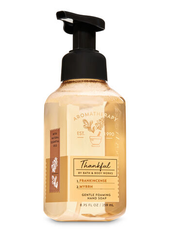 Aromatherapy Frankincense Myrrh Gentle Foaming Hand Soap - Bath And Body Works