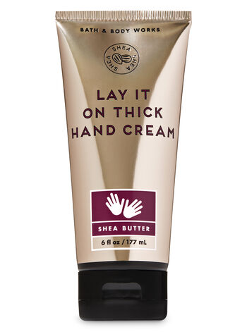 Shea Butter Lay it on Thick Hand Cream - Bath And Body Works