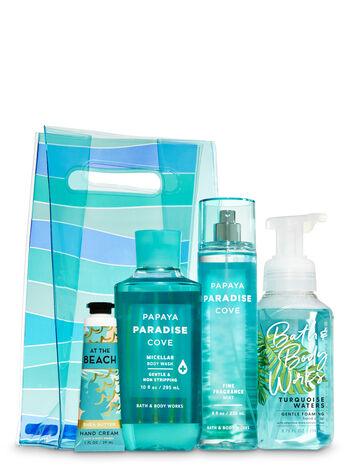 Beach Essentials Striped Bag Gift Set