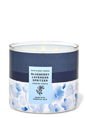 Blueberry Lavender Spritzer 3-Wick Candle