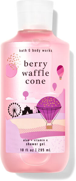 Berry Waffle Cone Shower Gel