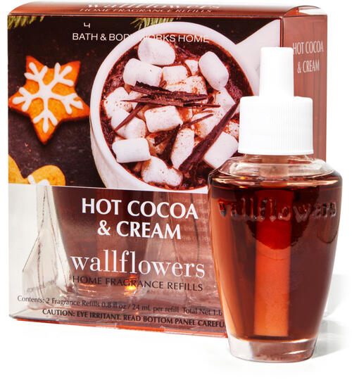 Hot Cocoa & Cream Wallflowers Refills, 2-Pack