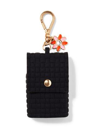 Flower Charm Snap Case PocketBac Holder