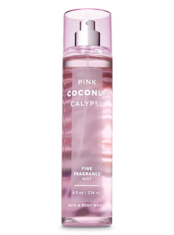 Signature Collection Pink Coconut Calypso Fine Fragrance Mist - Bath And Body Works