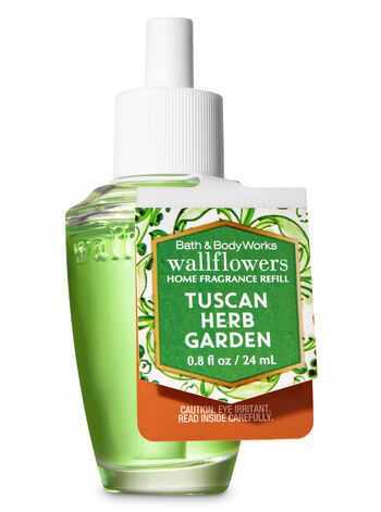 Tuscan Herb Garden Wallflowers Fragrance Refill - Bath And Body Works