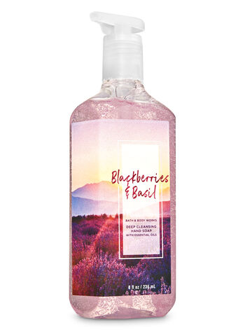 Blackberries & Basil Deep Cleansing Hand Soap - Bath And Body Works