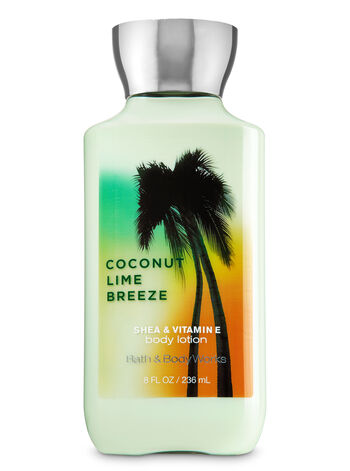 Signature Collection Coconut Lime Breeze Body Lotion - Bath And Body Works
