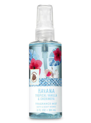 Signature Collection Tropical Vanilla & Cherimoya Travel Size Fine Fragrance Mist - Bath And Body Works