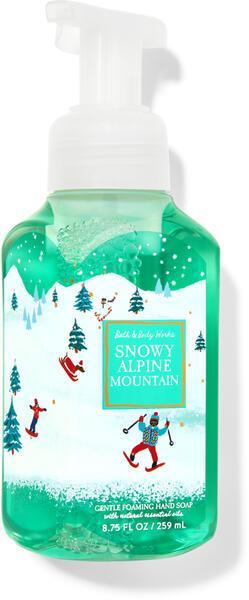 Snowy Alpine Mountain Gentle Foaming Hand Soap