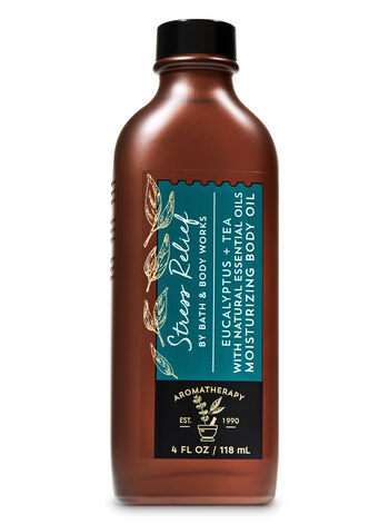 Aromatherapy Eucalyptus Tea Moisturizing Body Oil - Bath And Body Works