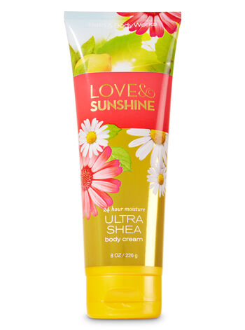 Signature Collection Love & Sunshine Ultra Shea Body Cream - Bath And Body Works