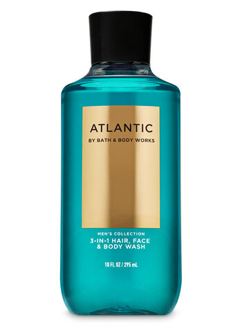 Atlantic 3-in-1 Hair, Face & Body Wash - Bath And Body Works