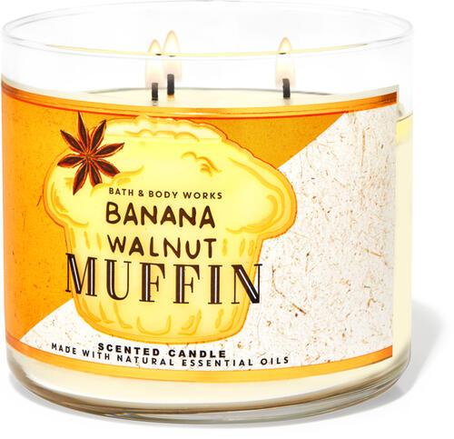 Banana Walnut Muffin 3-Wick Candle