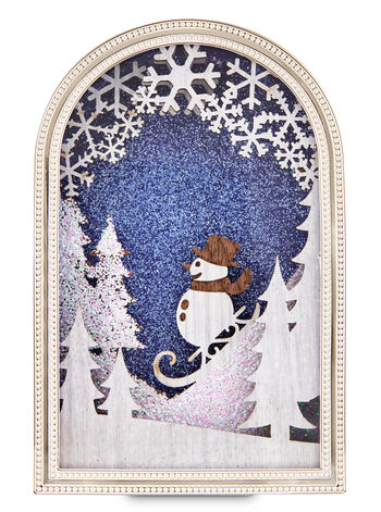 Snowman Woodland Scene Nightlight Wallflowers Fragrance Plug