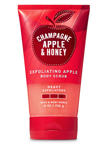 Champagne Apple & Honey Exfoliating Apple Body Scrub - Bath And Body Works