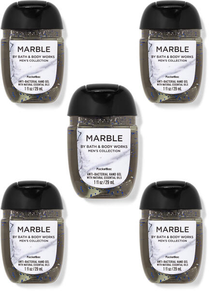 Marble PocketBac Hand Sanitizers, 5-Pack