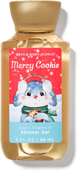 Merry Cookie Travel Size Shower Gel