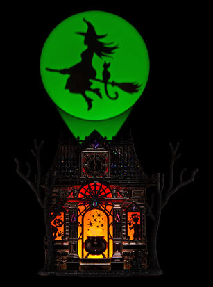 Haunted House Nightlight Projector Wallflowers Fragrance Plug