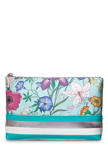 Pink Magnolia Garden Party Cosmetic Bag Gift Set