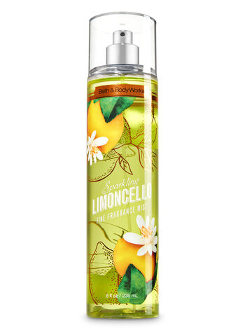 Signature Collection Sparkling Limoncello Fine Fragrance Mist - Bath And Body Works