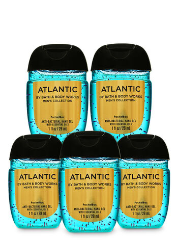 Atlantic PocketBac Hand Sanitizer, 5-Pack - Bath And Body Works