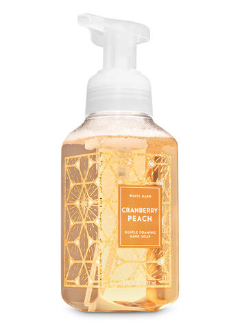 Cranberry Peach Gentle Foaming Hand Soap - Bath And Body Works
