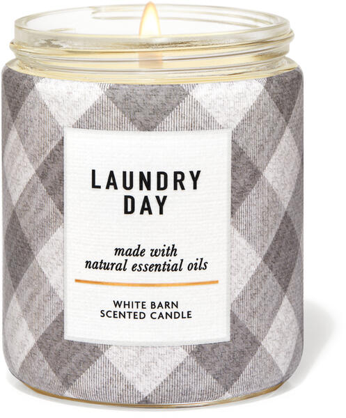 Laundry Day Single Wick Candle