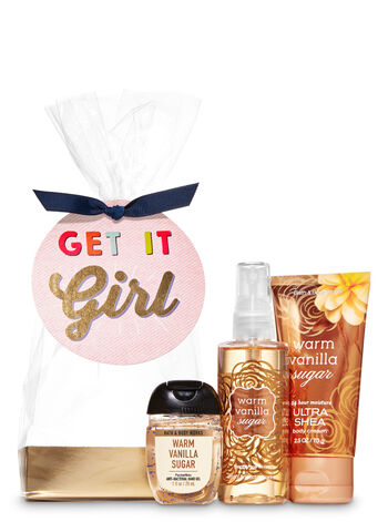Warm Vanilla Sugar Get It Girl Mini Gift Set - Bath And Body Works